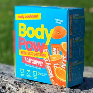 Body Pow Weight Loss Shot Drink - Orange